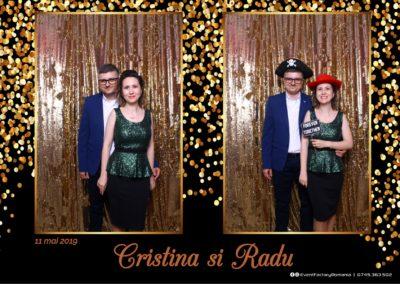 Cabina Foto Showtime - Magic Mirror - Cristina si Radu - Hotel Ramada Ramnicu Valcea - Event Factory (1)