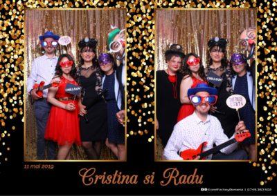 Cabina Foto Showtime - Magic Mirror - Cristina si Radu - Hotel Ramada Ramnicu Valcea - Event Factory (13)