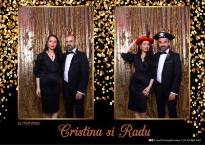 Cabina Foto Showtime - Magic Mirror - Cristina si Radu - Hotel Ramada Ramnicu Valcea - Event Factory (2)