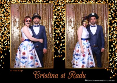 Cabina Foto Showtime - Magic Mirror - Cristina si Radu - Hotel Ramada Ramnicu Valcea - Event Factory (5)