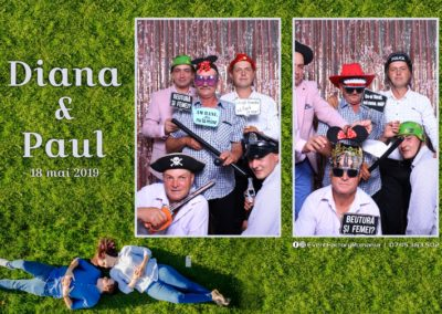 Cabina Foto Showtime - MAGIC MIRROR - Nunta - Diana si Paul - Crystal Palace Forest Ramnicu Valcea - Event Factory (11)
