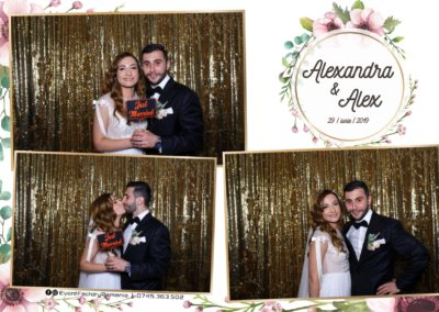 Cabina Foto Showtime - FUN BOX - Nunta - Alexandra & Alex - Restaurant OK Ballroom Ramnicu Valcea - Event Factory (1)