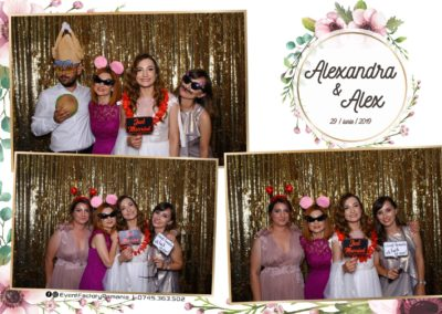 Cabina Foto Showtime - FUN BOX - Nunta - Alexandra & Alex - Restaurant OK Ballroom Ramnicu Valcea - Event Factory (10)