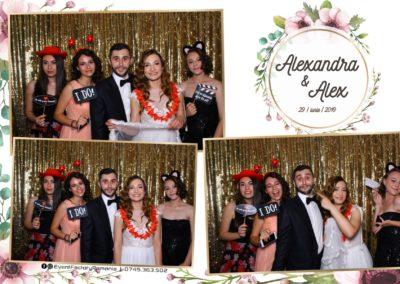 Cabina Foto Showtime - FUN BOX - Nunta - Alexandra & Alex - Restaurant OK Ballroom Ramnicu Valcea - Event Factory (17)
