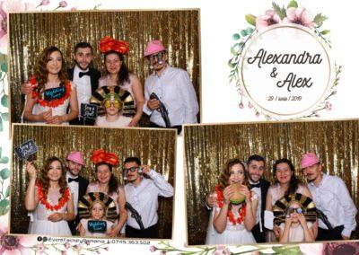 Cabina Foto Showtime - FUN BOX - Nunta - Alexandra & Alex - Restaurant OK Ballroom Ramnicu Valcea - Event Factory (20)