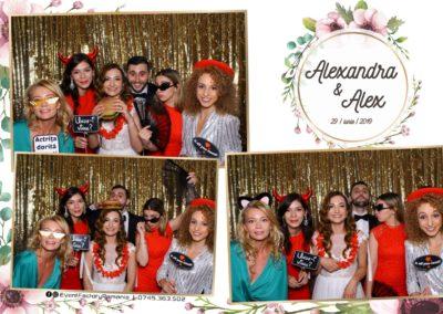 Cabina Foto Showtime - FUN BOX - Nunta - Alexandra & Alex - Restaurant OK Ballroom Ramnicu Valcea - Event Factory (21)