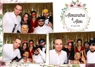 Cabina Foto Showtime - FUN BOX - Nunta - Alexandra & Alex - Restaurant OK Ballroom Ramnicu Valcea - Event Factory (30)