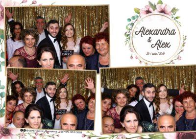 Cabina Foto Showtime - FUN BOX - Nunta - Alexandra & Alex - Restaurant OK Ballroom Ramnicu Valcea - Event Factory (74)