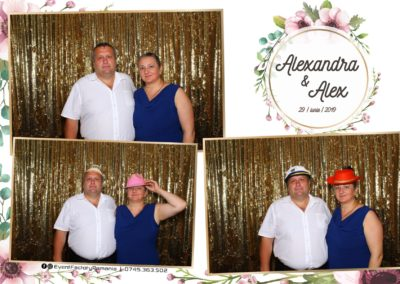 Cabina Foto Showtime - FUN BOX - Nunta - Alexandra & Alex - Restaurant OK Ballroom Ramnicu Valcea - Event Factory (86)