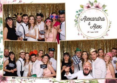 Cabina Foto Showtime - FUN BOX - Nunta - Alexandra & Alex - Restaurant OK Ballroom Ramnicu Valcea - Event Factory (94)