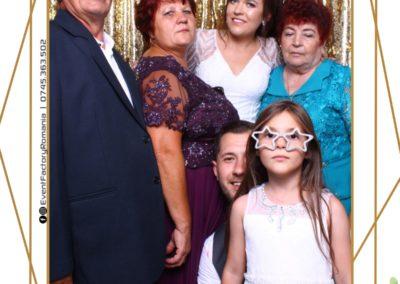 Cabina Foto Showtime - Magic Mirror - Nunta - Andra & Alex - Restaurant Paradis Noblesse Valcea - Event Factory (201)