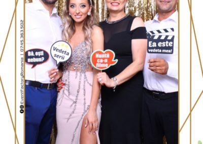 Cabina Foto Showtime - Magic Mirror - Nunta - Andra & Alex - Restaurant Paradis Noblesse Valcea - Event Factory (35)