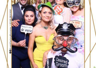 Cabina Foto Showtime - Magic Mirror - Nunta - Andra & Alex - Restaurant Paradis Noblesse Valcea - Event Factory (60)