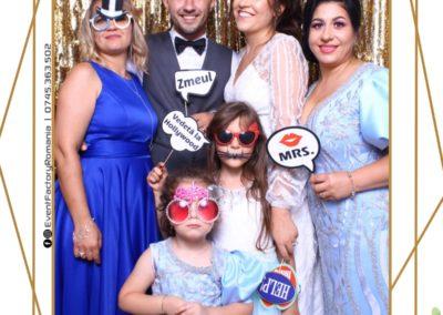 Cabina Foto Showtime - Magic Mirror - Nunta - Andra & Alex - Restaurant Paradis Noblesse Valcea - Event Factory (62)