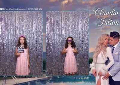 Cabina Foto Showtime - Magic Mirror - Nunta - Claudia & Iulian - Restaurant Paradis Ramnicu Valcea - Event Factory (10)