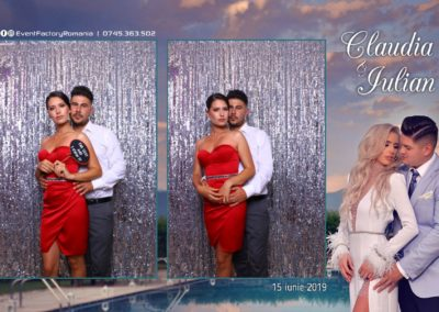Cabina Foto Showtime - Magic Mirror - Nunta - Claudia & Iulian - Restaurant Paradis Ramnicu Valcea - Event Factory (100)