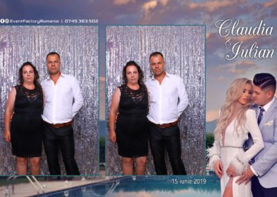 Cabina Foto Showtime - Magic Mirror - Nunta - Claudia & Iulian - Restaurant Paradis Ramnicu Valcea - Event Factory (102)