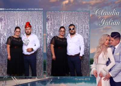 Cabina Foto Showtime - Magic Mirror - Nunta - Claudia & Iulian - Restaurant Paradis Ramnicu Valcea - Event Factory (103)