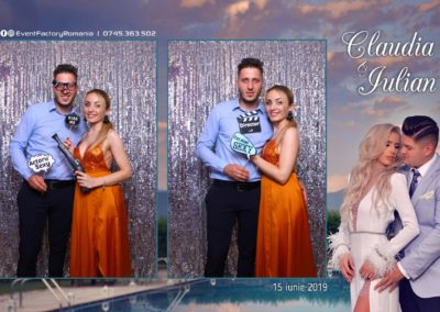 Cabina Foto Showtime - Magic Mirror - Nunta - Claudia & Iulian - Restaurant Paradis Ramnicu Valcea - Event Factory (104)