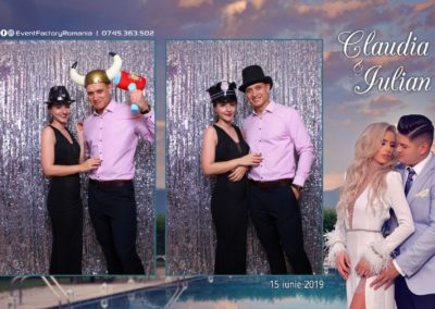 Cabina Foto Showtime - Magic Mirror - Nunta - Claudia & Iulian - Restaurant Paradis Ramnicu Valcea - Event Factory (107)