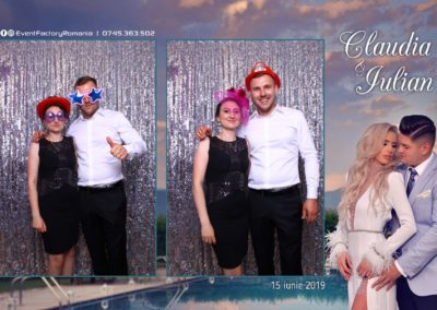 Cabina Foto Showtime - Magic Mirror - Nunta - Claudia & Iulian - Restaurant Paradis Ramnicu Valcea - Event Factory (108)