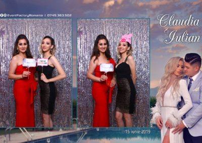 Cabina Foto Showtime - Magic Mirror - Nunta - Claudia & Iulian - Restaurant Paradis Ramnicu Valcea - Event Factory (112)
