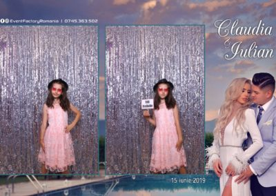 Cabina Foto Showtime - Magic Mirror - Nunta - Claudia & Iulian - Restaurant Paradis Ramnicu Valcea - Event Factory (113)