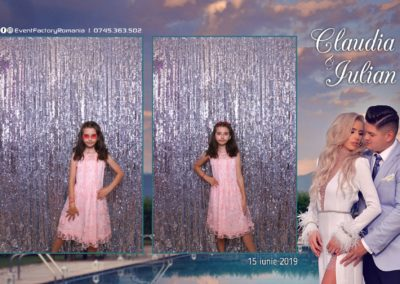 Cabina Foto Showtime - Magic Mirror - Nunta - Claudia & Iulian - Restaurant Paradis Ramnicu Valcea - Event Factory (114)