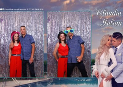 Cabina Foto Showtime - Magic Mirror - Nunta - Claudia & Iulian - Restaurant Paradis Ramnicu Valcea - Event Factory (115)