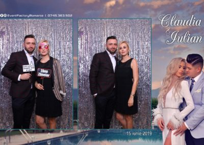 Cabina Foto Showtime - Magic Mirror - Nunta - Claudia & Iulian - Restaurant Paradis Ramnicu Valcea - Event Factory (116)