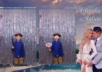 Cabina Foto Showtime - Magic Mirror - Nunta - Claudia & Iulian - Restaurant Paradis Ramnicu Valcea - Event Factory (12)