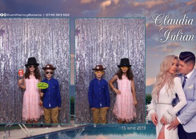 Cabina Foto Showtime - Magic Mirror - Nunta - Claudia & Iulian - Restaurant Paradis Ramnicu Valcea - Event Factory (122)