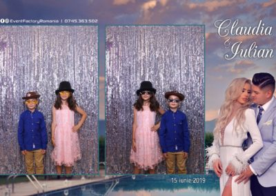 Cabina Foto Showtime - Magic Mirror - Nunta - Claudia & Iulian - Restaurant Paradis Ramnicu Valcea - Event Factory (123)