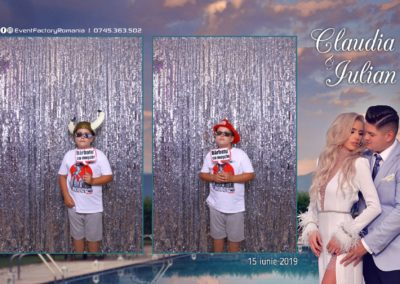 Cabina Foto Showtime - Magic Mirror - Nunta - Claudia & Iulian - Restaurant Paradis Ramnicu Valcea - Event Factory (125)