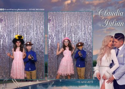Cabina Foto Showtime - Magic Mirror - Nunta - Claudia & Iulian - Restaurant Paradis Ramnicu Valcea - Event Factory (127)