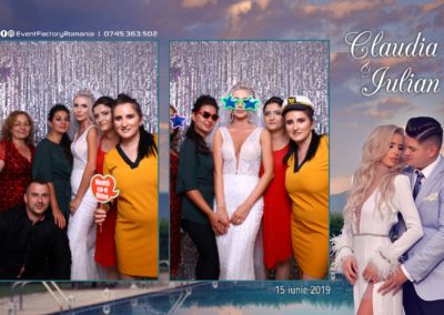 Cabina Foto Showtime - Magic Mirror - Nunta - Claudia & Iulian - Restaurant Paradis Ramnicu Valcea - Event Factory (129)