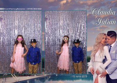 Cabina Foto Showtime - Magic Mirror - Nunta - Claudia & Iulian - Restaurant Paradis Ramnicu Valcea - Event Factory (130)