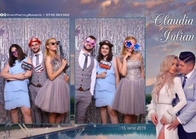 Cabina Foto Showtime - Magic Mirror - Nunta - Claudia & Iulian - Restaurant Paradis Ramnicu Valcea - Event Factory (131)