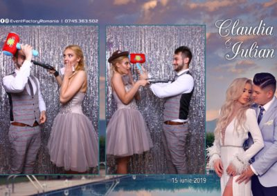 Cabina Foto Showtime - Magic Mirror - Nunta - Claudia & Iulian - Restaurant Paradis Ramnicu Valcea - Event Factory (132)