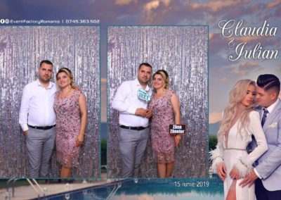 Cabina Foto Showtime - Magic Mirror - Nunta - Claudia & Iulian - Restaurant Paradis Ramnicu Valcea - Event Factory (134)