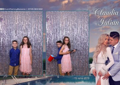 Cabina Foto Showtime - Magic Mirror - Nunta - Claudia & Iulian - Restaurant Paradis Ramnicu Valcea - Event Factory (135)