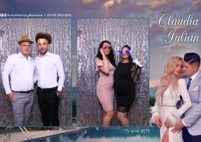 Cabina Foto Showtime - Magic Mirror - Nunta - Claudia & Iulian - Restaurant Paradis Ramnicu Valcea - Event Factory (139)
