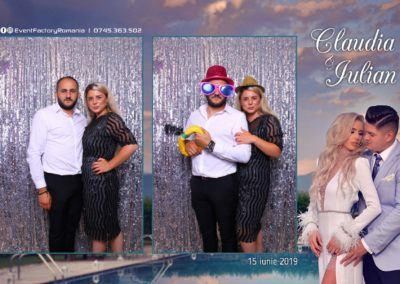 Cabina Foto Showtime - Magic Mirror - Nunta - Claudia & Iulian - Restaurant Paradis Ramnicu Valcea - Event Factory (146)