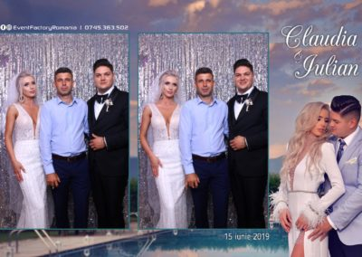 Cabina Foto Showtime - Magic Mirror - Nunta - Claudia & Iulian - Restaurant Paradis Ramnicu Valcea - Event Factory (148)