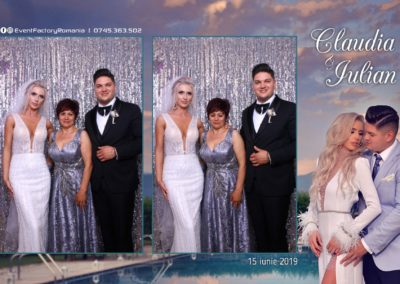 Cabina Foto Showtime - Magic Mirror - Nunta - Claudia & Iulian - Restaurant Paradis Ramnicu Valcea - Event Factory (149)