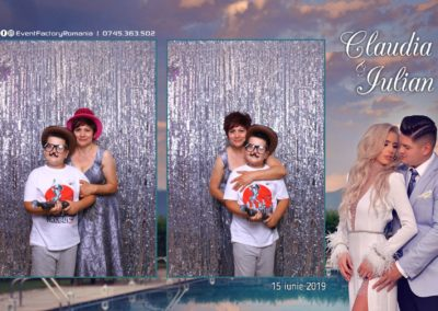 Cabina Foto Showtime - Magic Mirror - Nunta - Claudia & Iulian - Restaurant Paradis Ramnicu Valcea - Event Factory (151)