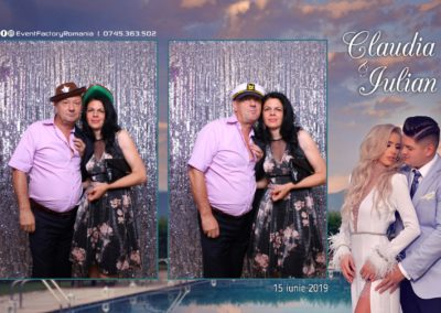 Cabina Foto Showtime - Magic Mirror - Nunta - Claudia & Iulian - Restaurant Paradis Ramnicu Valcea - Event Factory (154)