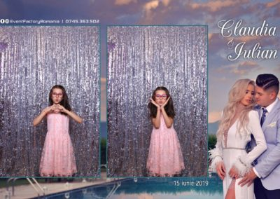 Cabina Foto Showtime - Magic Mirror - Nunta - Claudia & Iulian - Restaurant Paradis Ramnicu Valcea - Event Factory (19)