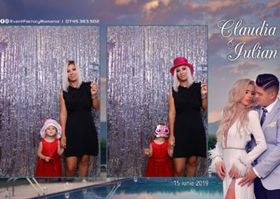 Cabina Foto Showtime - Magic Mirror - Nunta - Claudia & Iulian - Restaurant Paradis Ramnicu Valcea - Event Factory (20)