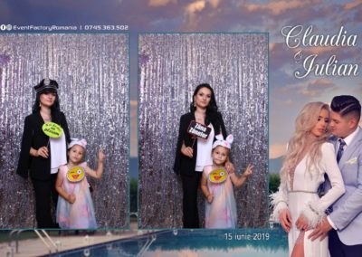 Cabina Foto Showtime - Magic Mirror - Nunta - Claudia & Iulian - Restaurant Paradis Ramnicu Valcea - Event Factory (21)